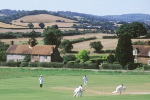 Bradenham - cricket on the green