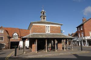 The market square, Princes Risborough