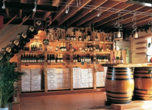 The cellar at the Chiltern Valley Winery & Brewery